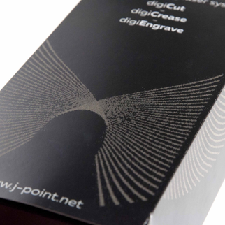 High-speed laser cutting, engraving and perforation | J Point Plus