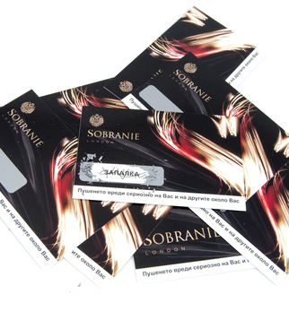 Sobranie scratch cards | J Point Plus