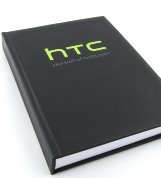 HTC notebook with embossed varnish | J Point Plus