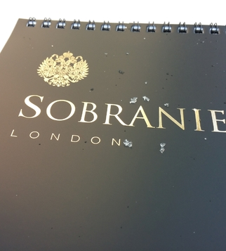 Sobranie calendar with hot stamping | J Point Plus