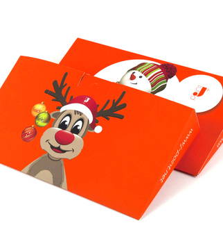 Gift packages with HP Orange print | J Point Plus