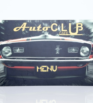Меню AutoClub Cafe  | J Point Plus