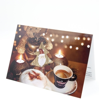 Christmas card with UV varnish | J Point Plus