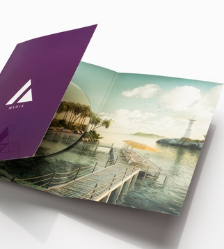Bi-folded CD cover | J Point Plus