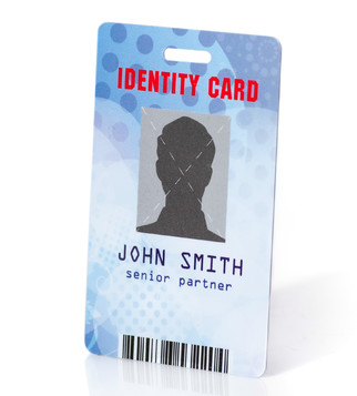 PVC badge with personalization  | J Point Cards