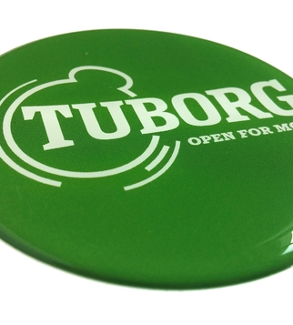 Tuborg volume sticker  | J Point Plus
