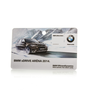 Loyalty card BMW